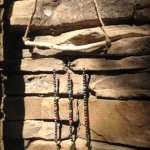 Hematite Beads and Skeleton Key Wind Chime April 2017 #2