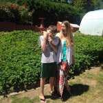 Strawberry Picking Camilla and Thomas 6.13.17 #2