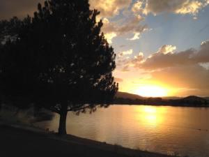 Sunset Walk Vintage Lake 7.24.17 #3