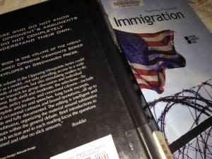 Immigration Book Thomas Reading 9.2017