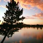Sunset Walk with Lillian Vintage Lake 8.29.17 #8