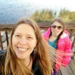 Camilla and Lillian Walk Vintage Lake 10.3.17 #2