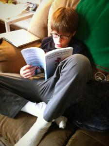 Thomas reading D iz for Different 11.11.15