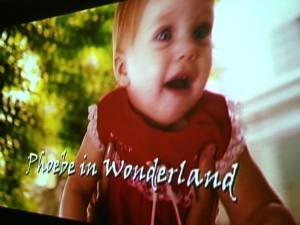 Phoebe in Wonderland Movie 2018