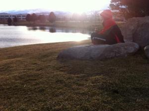 Walk With Thomas Vintage Lake 12.19.15