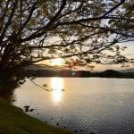 Sunset Walk with Lillian Vintage lake 5.3.18 #11