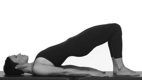 Exercise Spotlight: Shoulder Bridge Prep   Peak Pilates Community