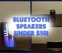 Bluetooth Speakers Under $50!