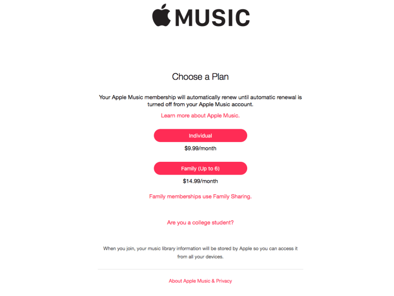 Apple Music Student Discount