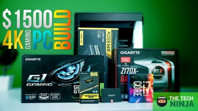 The Ultimate 4K Gaming Machine ($1500 PC Build+Benchmarks)