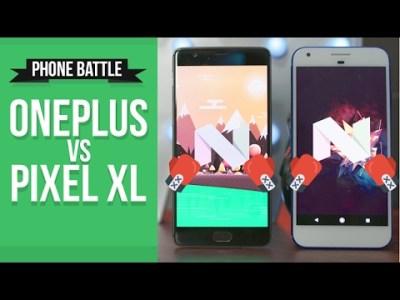 OnePlus 3T vs Pixel XL – A real world phone battle.