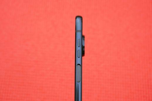 The phone's fingerprint sensor is now on the side.