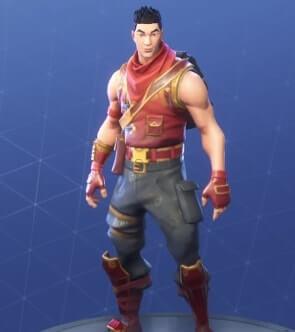 fortnite skins crimson scout