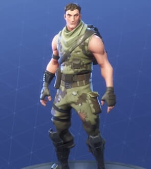 fortnite skins highrise assault trooper