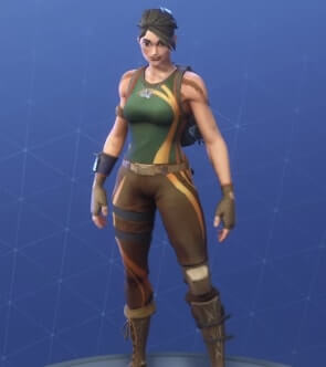 fortnite skins jungle scout