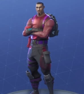 fortnite skins radiant striker