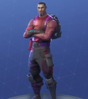 fortnite skins radiant striker
