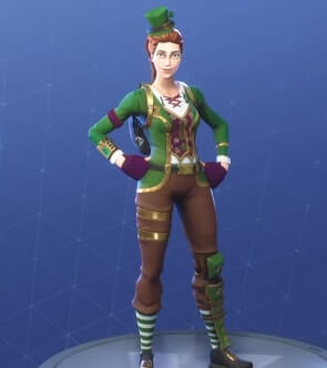 fortnite skins sgt green clover
