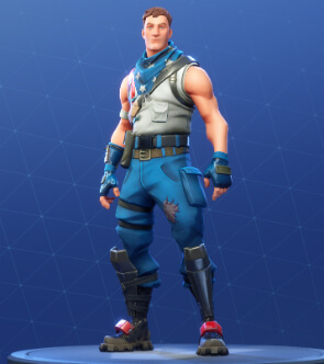 fortnite skins star-spangled trooper