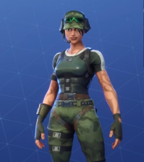 fortnite skins trailblazer