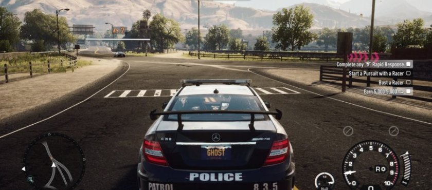 Need for Speed PS4 - police