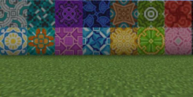 making the colored Terracotta in Minecraft