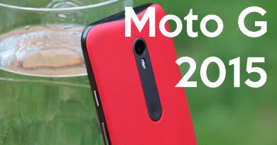 Moto G 2015