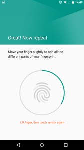 Android 6 Marshmallow Fingerprint