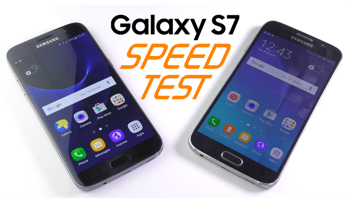 Galaxy S7 & S7 EDGE vs Galaxy S6 | SPEED TEST