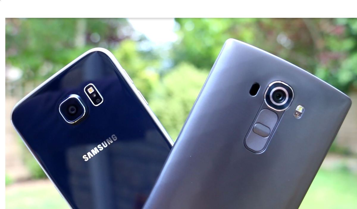 Samsung Galaxy S6 vs LG G4 Camera Comparison