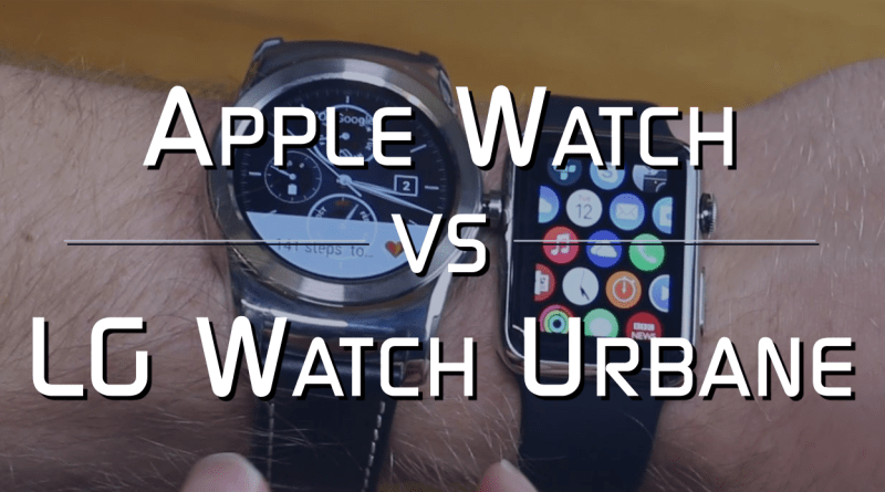 Apple Watch vs LG Watch Urbane Thumbnail