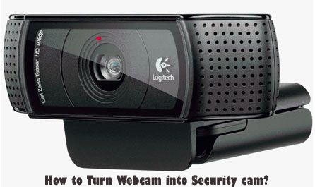 How to Turn Webcam into Security cam