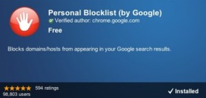How to Block a Website from Google Search Results
