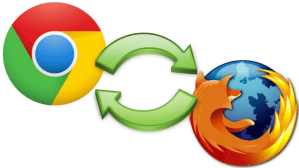 How to sync bookmarks between firefox and chrome