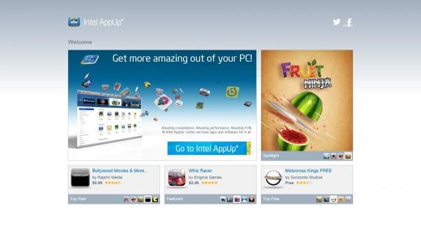 Intel appup