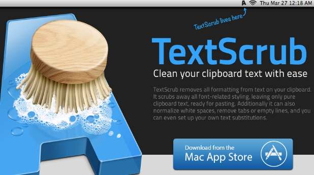 Remove Unwanted Formatting from your Clipboard Using TextScrub