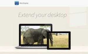 Turn Your iPhone Into External Display Through Wifi Using Mini Display