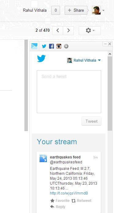 Twitter Inbox in PowerInbox thetechhacker
