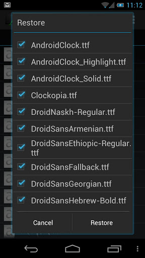 Font Installer for changing android fonts