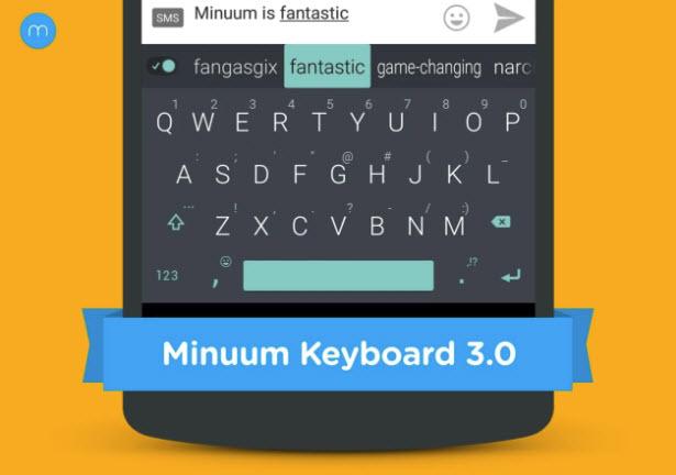Minuum Keyboard + Smart Emoji