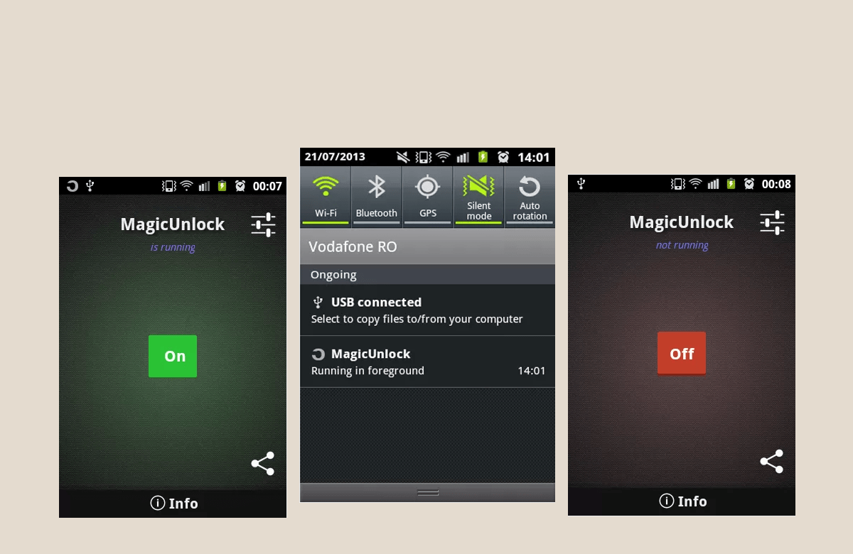 Unlock Your Android With A Wave Of Your Hand Using Magic Unlock thetechhacker