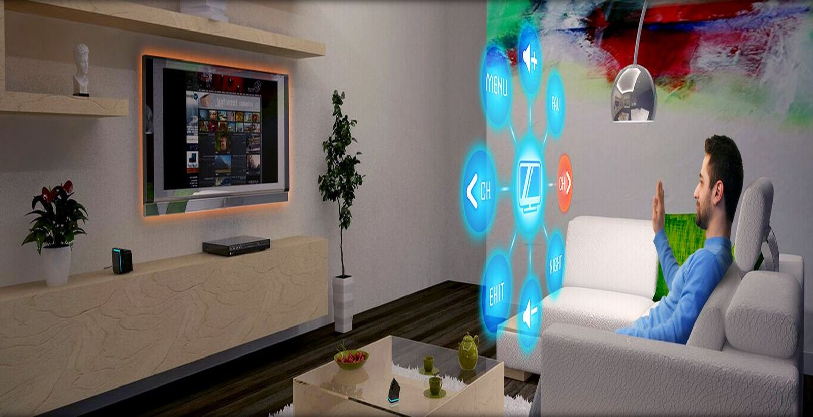 Control Your Home With Gesture And Voice Using Flowton