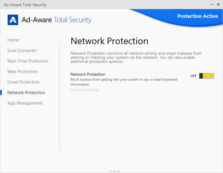 Ad-Aware Network Protection