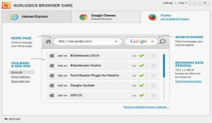 Improve Your Browser's Performance With Auslogics Browser Care