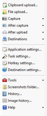 ShareX Options