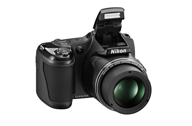 Nikon L820 Flash