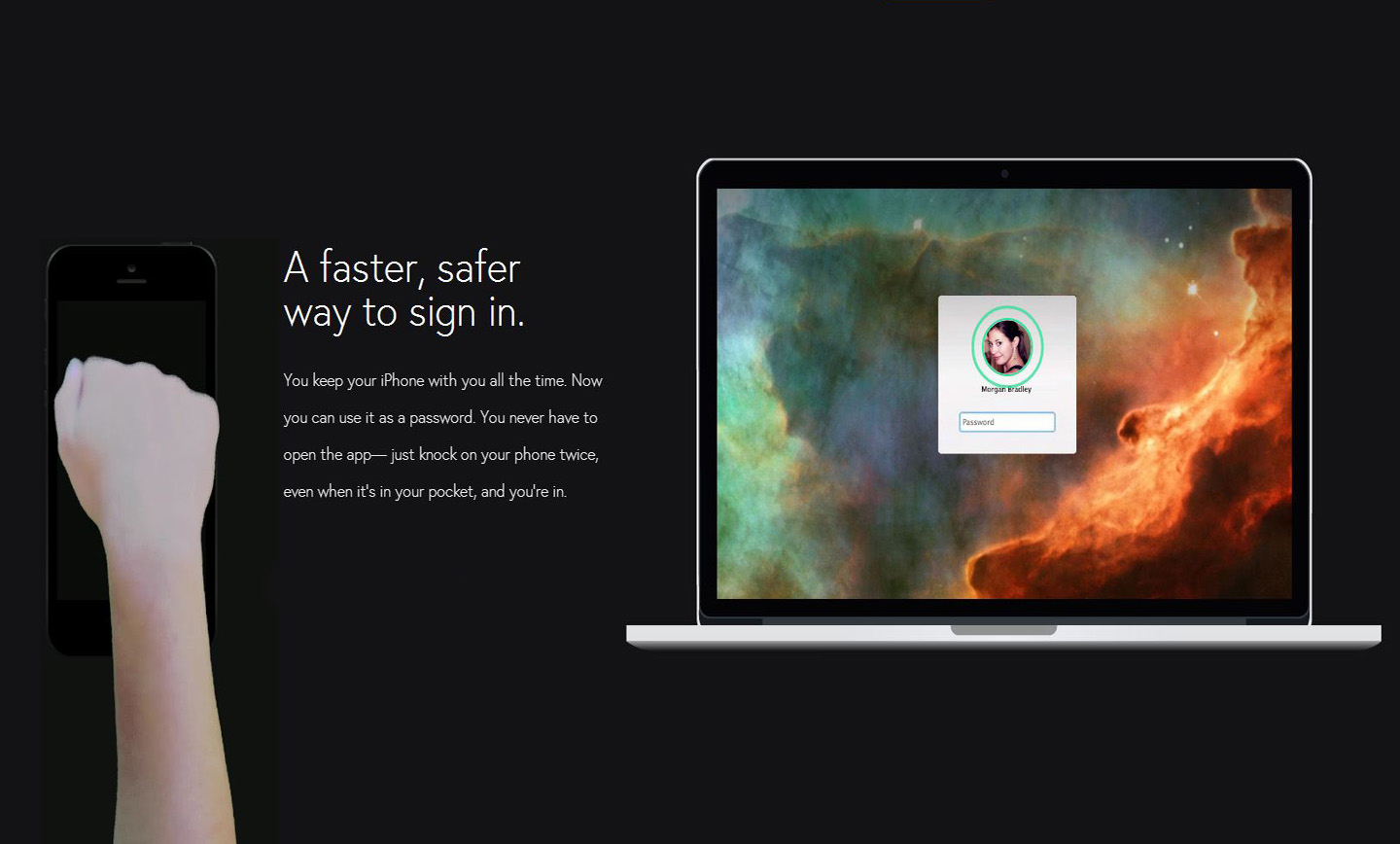 Unlock Your Mac By Tapping On Your iPhone's Back With Knock