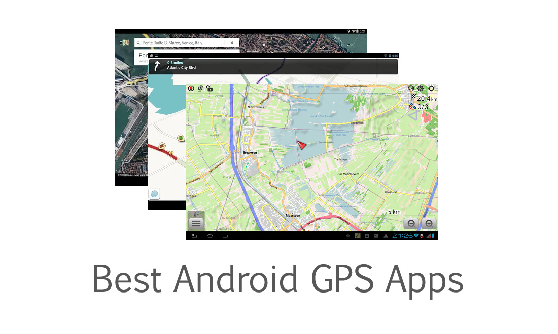 Best Android GPS Apps