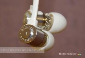 T-Peos Rich200 Earphones-Review