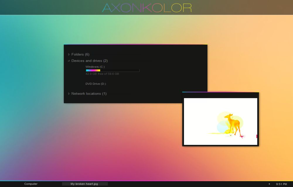 Axonkolor 8.1